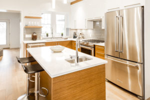 kitchen renovations victoria bc - adding a kitchen island