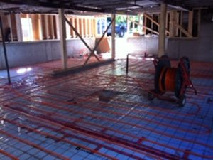 finishing basement of house after lifting